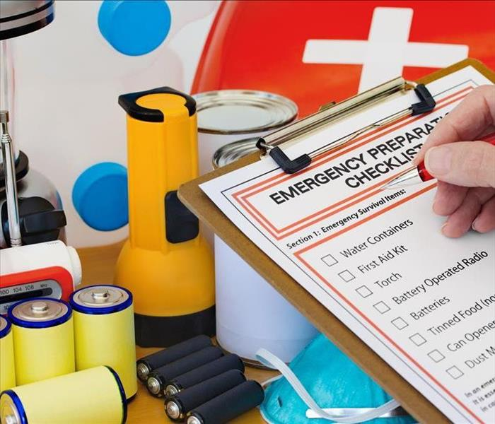 Take the time to make and stock an emergency supply list for weather-related emergencies!